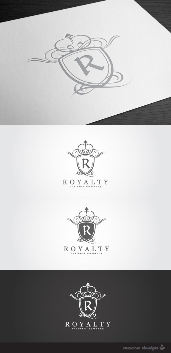 Royalty Logo By Mocca Design Via Behance Logo Design Inspiration Logo Design Design