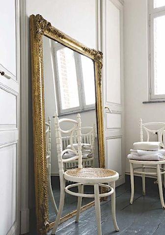 big old mirror | Living room mirrors, Big mirror in bedroom ...