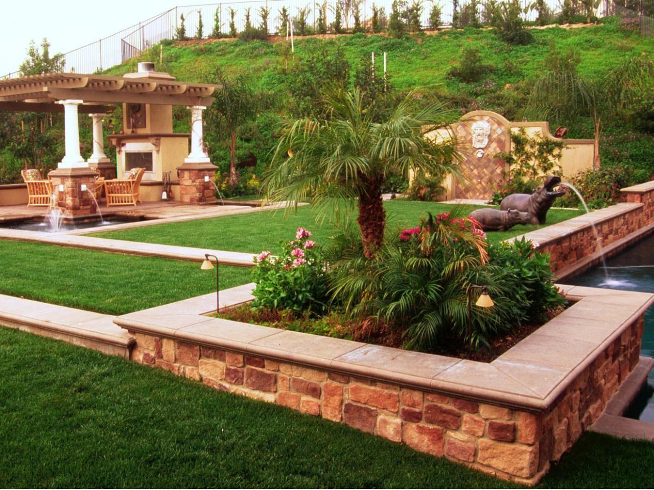 26 schöne Hinterhof-Design-Ideen  Backyard landscaping designs