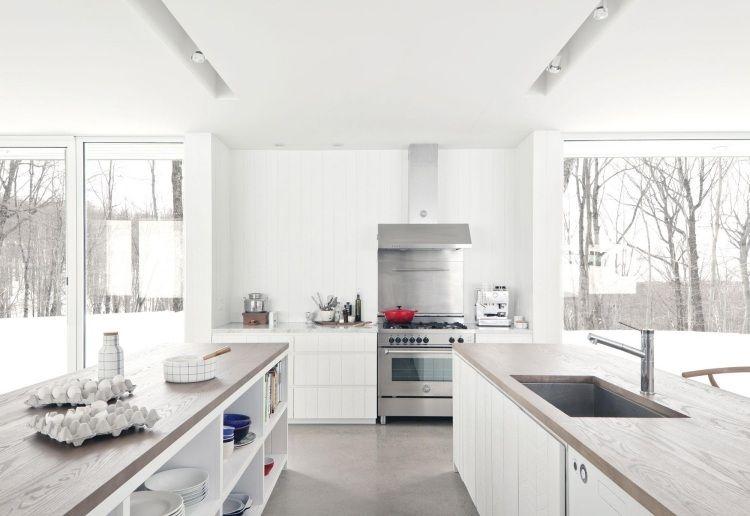 holz arbeitsplatten moderne kueche – dogmatise, Kuchen