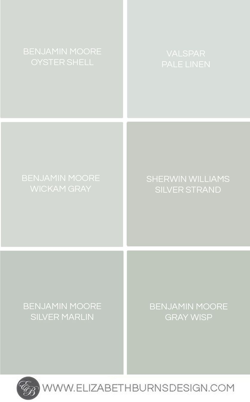 Gray Blue Green Shades Paint Colors Elizabeth Burns Design Raleigh Nc Interior Designer Blue Green Paints Paint Colors For Home Green Grey Paint