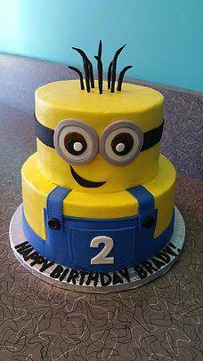 Fabulous Minion Cake 2 With Images Minion Birthday Cake Minion Funny Birthday Cards Online Aboleapandamsfinfo