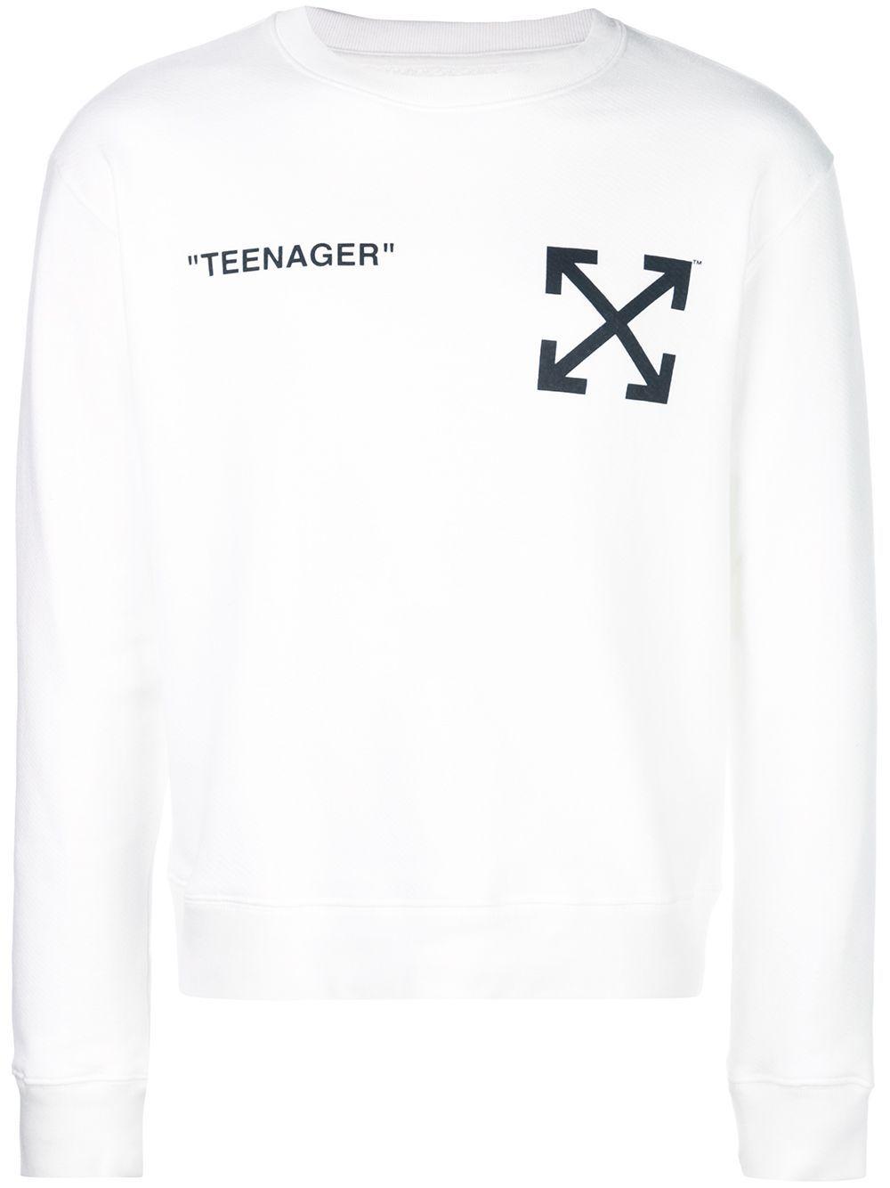 Off White T Shirts Off White Arrows Sweatshirt Off White T Shirts Sweatshirts Arrow Sweatshirt Off White Mens [ 1334 x 1000 Pixel ]