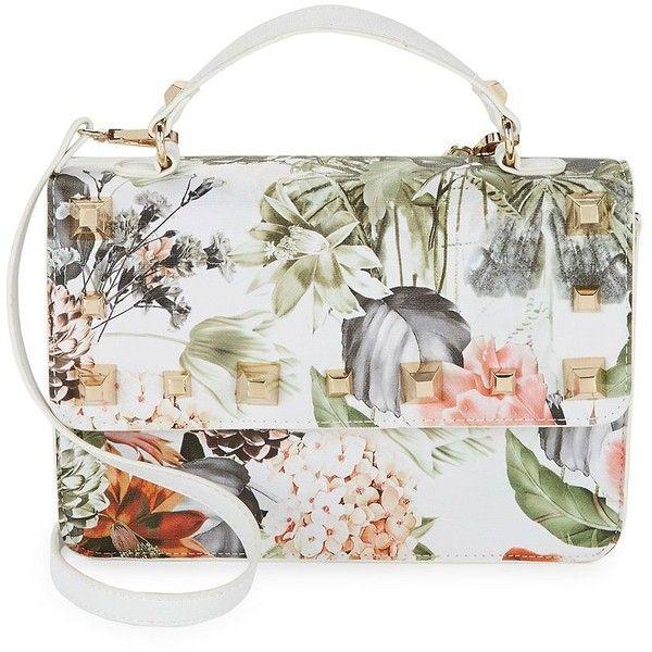 56adbf2fb34 Design Lab Lord & Taylor Women's Floral Flap Shoulder Bag ($12 ...