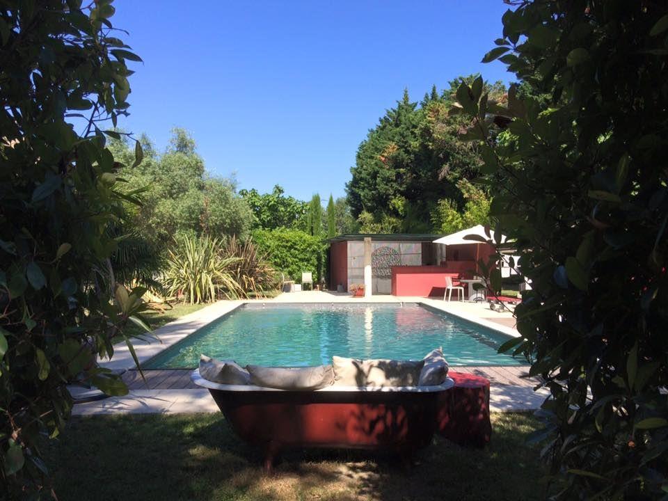 So sieht´s gerade aus in der Metairie Montplaisir. Perfekter Ort für den Familienurlaub in Südfrankreich.