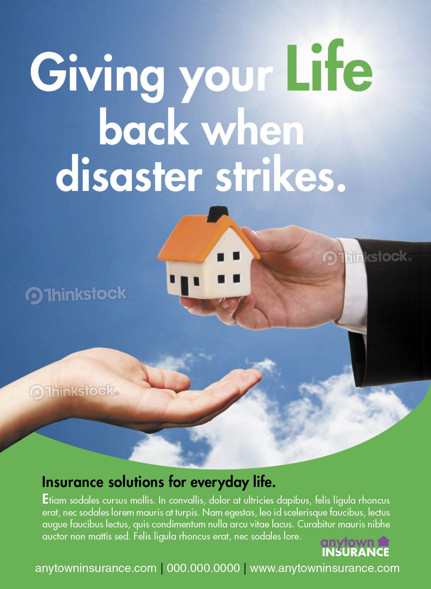 anytown_insurance Insurance ads, Life, Insurance