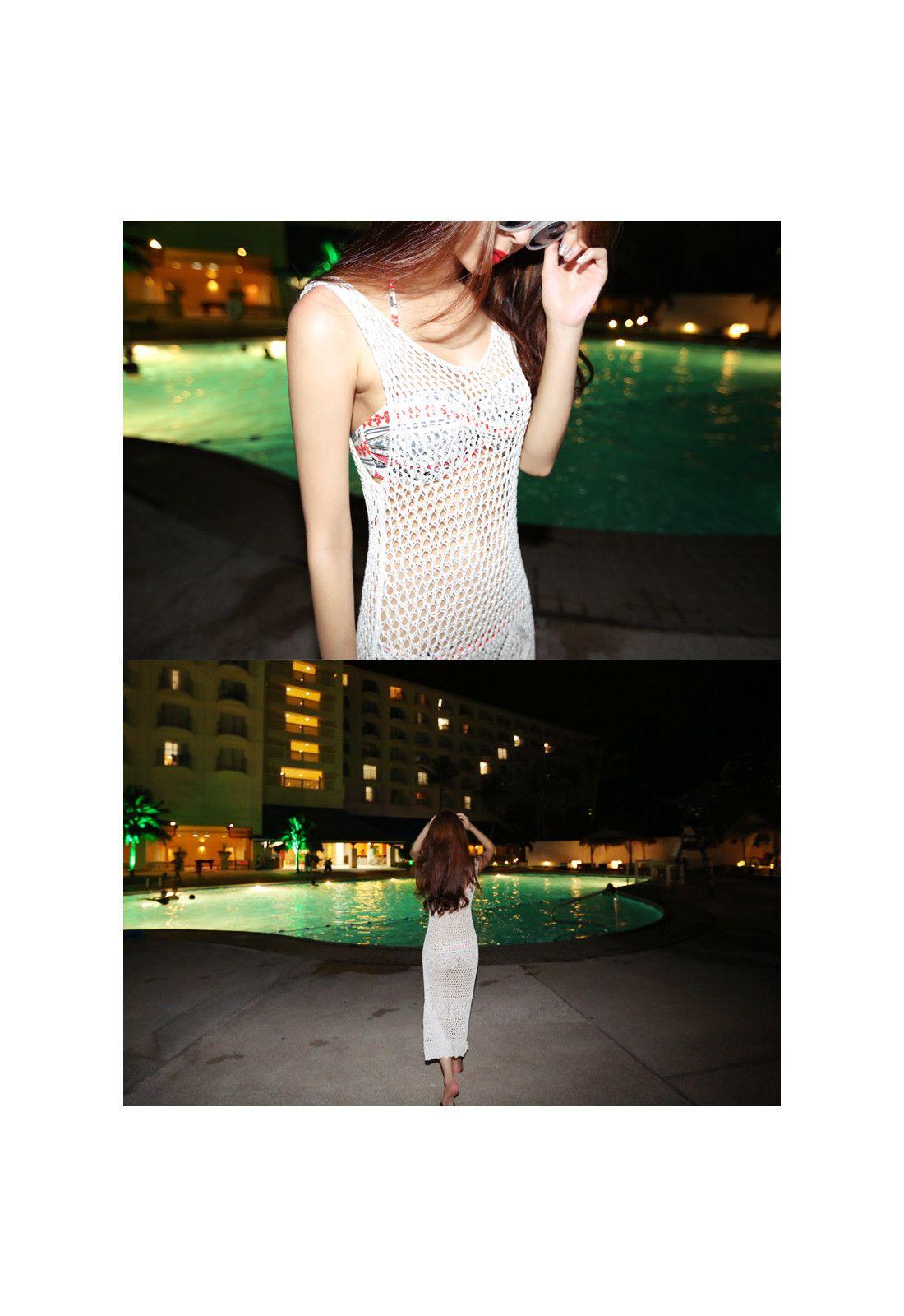 whitening * dress
