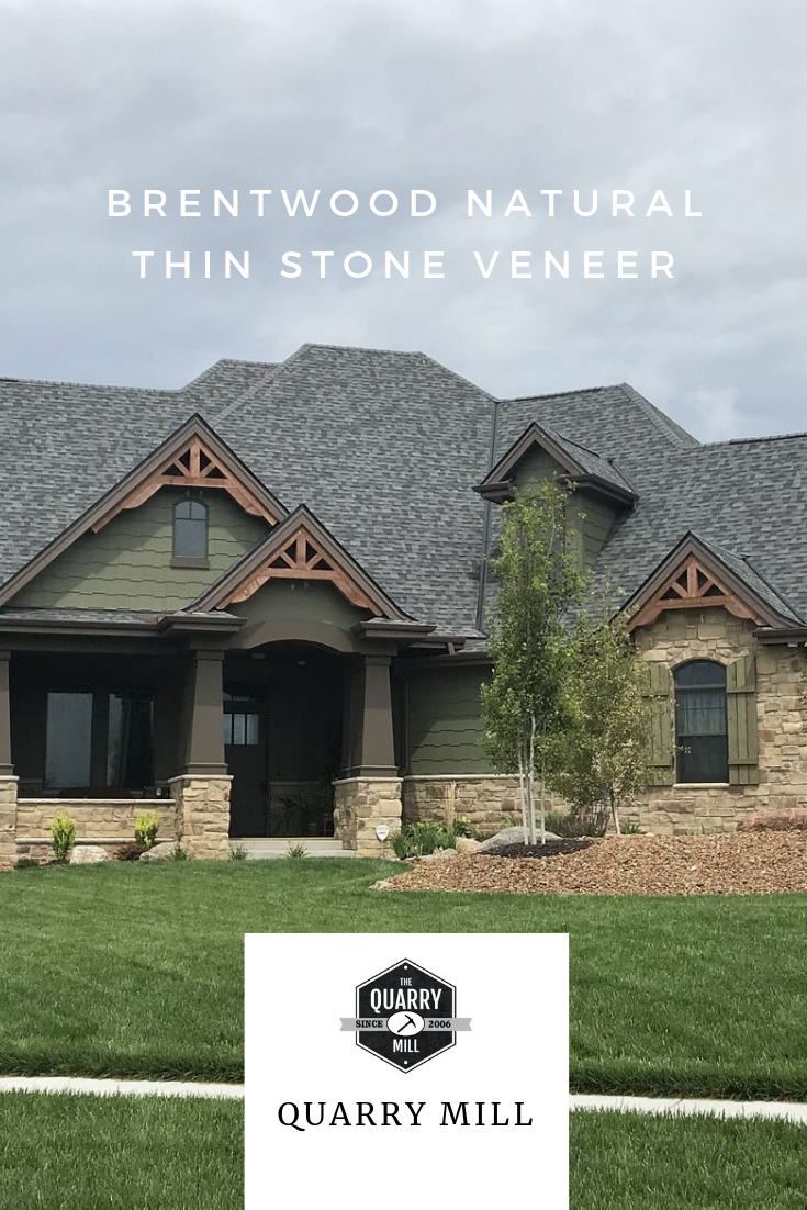Brentwood Natural Thin Stone Veneer Quarry Mill Thin Stone Veneer Stone Veneer Natural Stone Veneer