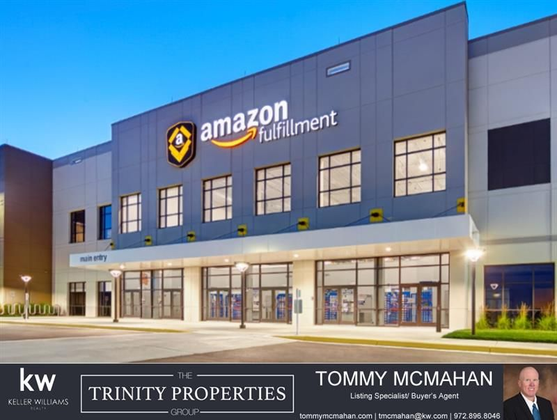 ATTN FORNEY, TX! Amazon is coming and bringing 30,000