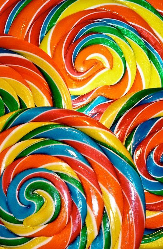 Rainbow Lollipops #multicolor