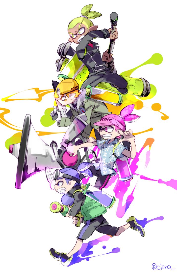 Splatoon Manga Mobile Wallpaper 2055176 Zerochan Anime