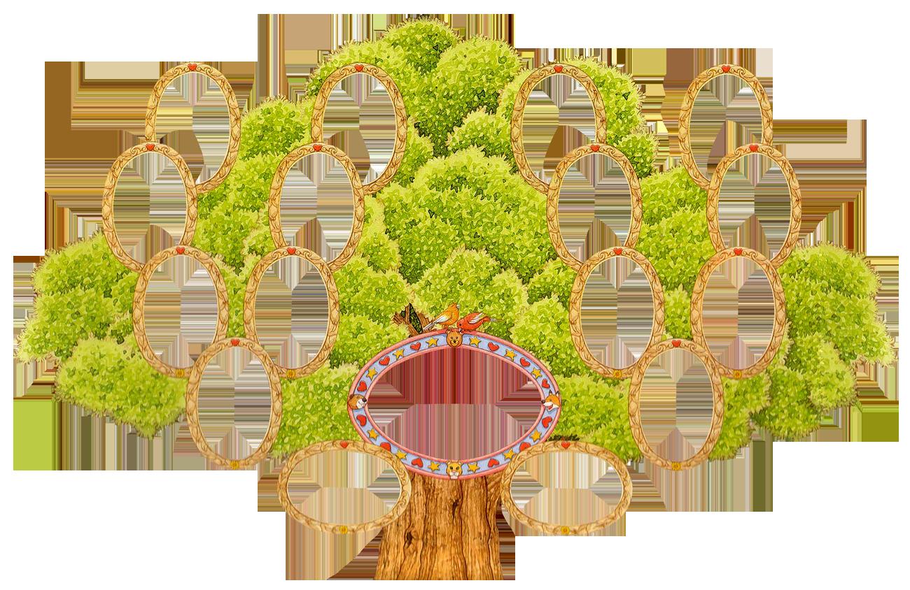 Картинка дерево для родословно
