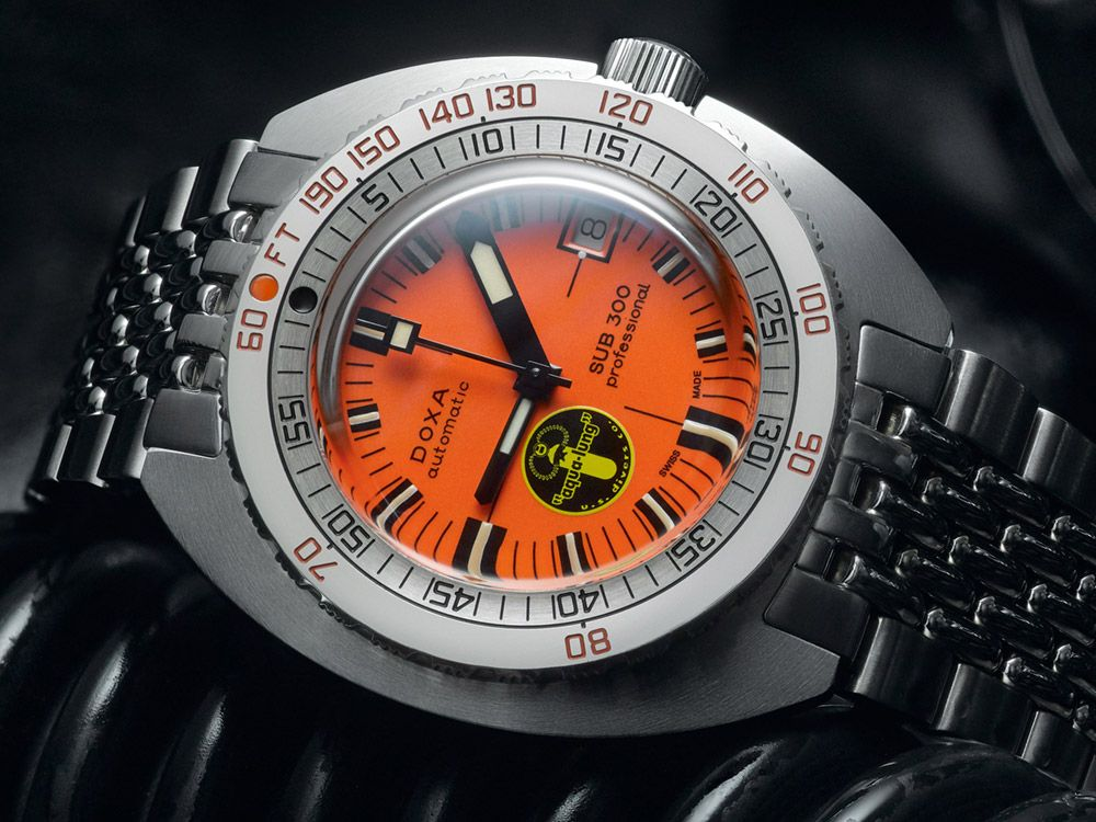 ff459cd89ee2 Doxa is partnering with Aqua Lung to celebrate the dive gear manufacturer s  75th anniversary. Learn more about the DOXA SUB 300 Black Lung Re-Issue  Dive ...