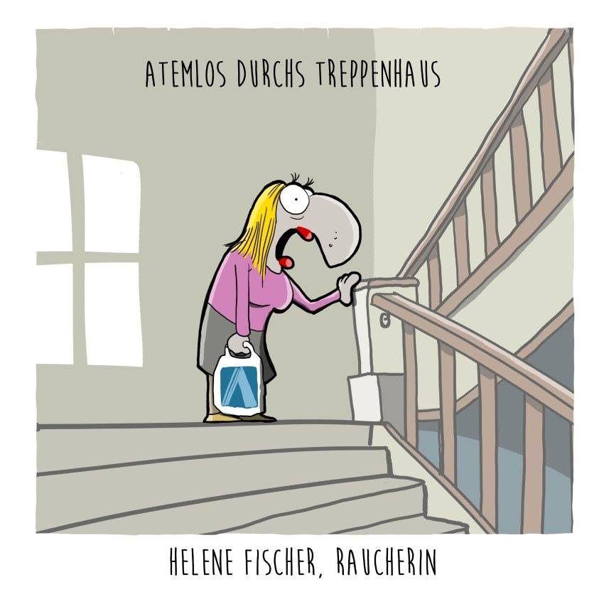 #helene fischer, raucherin