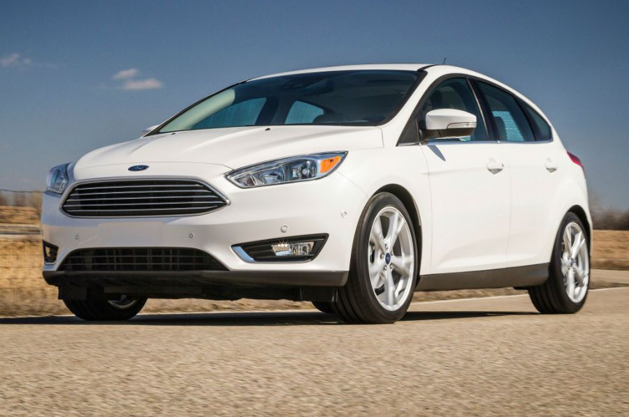 2015 Ford Focus White Ford Focus Ford Focus Hatchback Ford
