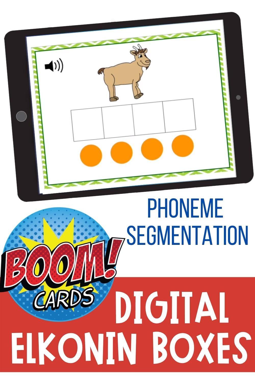 Digital Elkonin Boxes Google Slides And Boom Task Cards Make Take Teach Video Video Elkonin Boxes Phonemic Awareness Activities Phoneme Segmentation Activities [ 1500 x 1000 Pixel ]