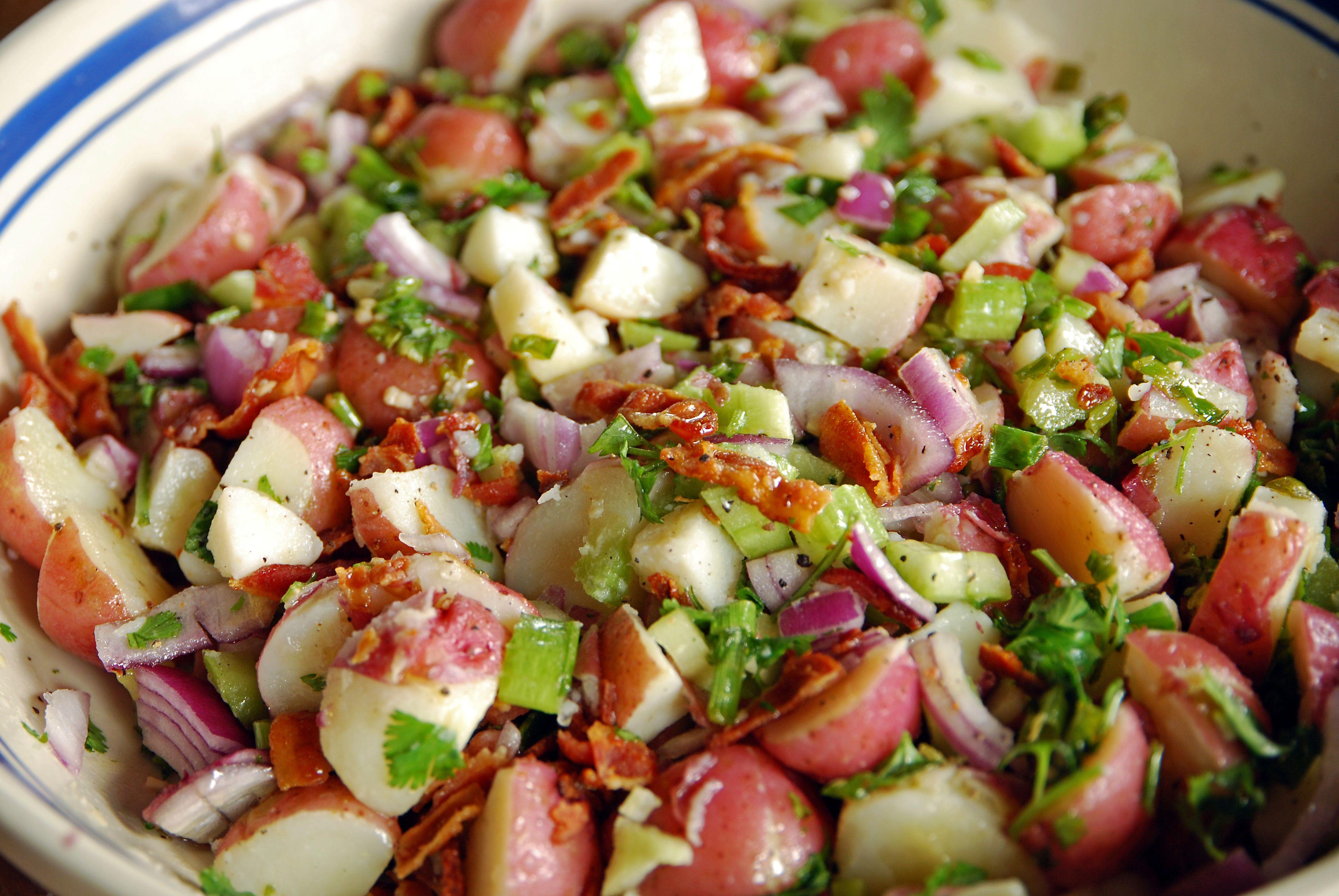 Summer Potato Salad Recipes No Mayo
