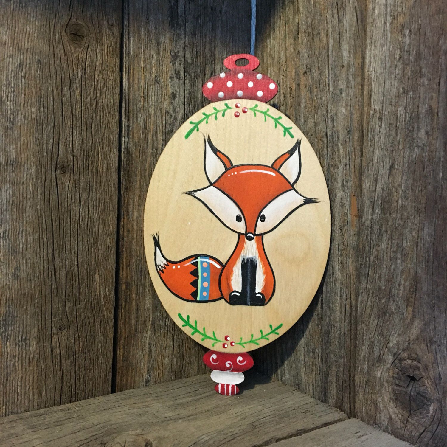 A personal favorite from my Etsy shop https://www.etsy.com/listing/474273140/christmas-ornament-2016-woodland