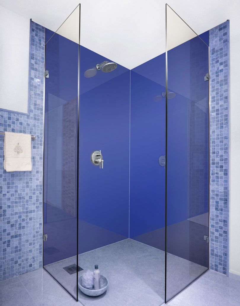 Cosmic Blue-m Acrylic Shower Panels | Shower panels, Cosmic and ...