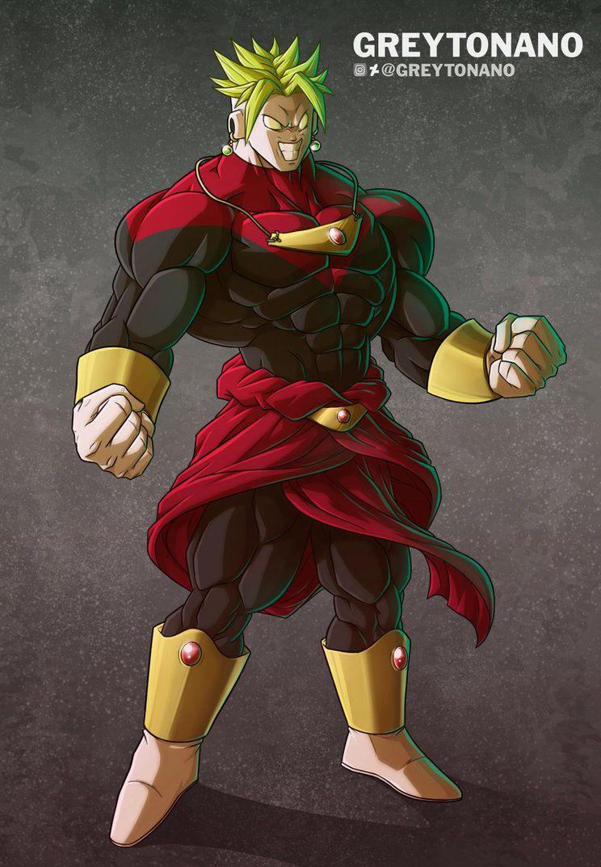 Jiren Broly By Greytonano Dragon Ball Super Manga Dragon Ball Super Goku Dragon Ball Art