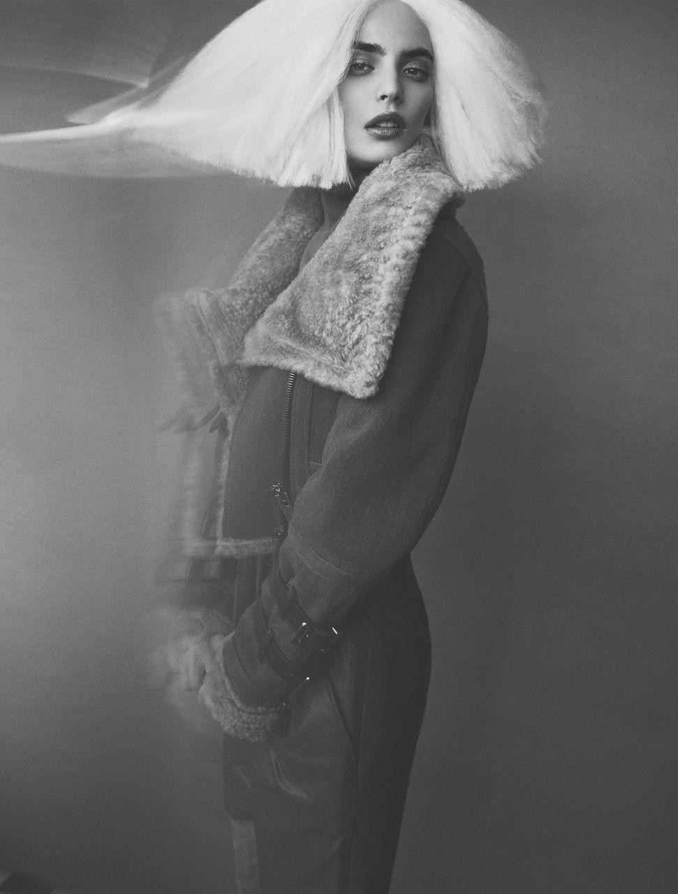 ", ELLE Poland ""Wig"" | AFPHOTO, Anja Rubik Blog, Anja Rubik Blog"