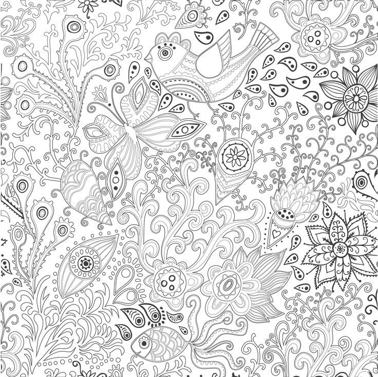 coloring pages for adults / coloriage anti stress pour adulte ... - Advanced Coloring Pages Butterfly