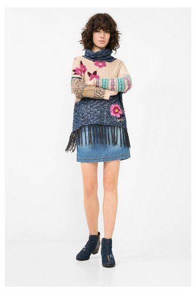 Desigual Damenpullover. Entdecke die It's not the same Herbst/Winterkollektion 2016!