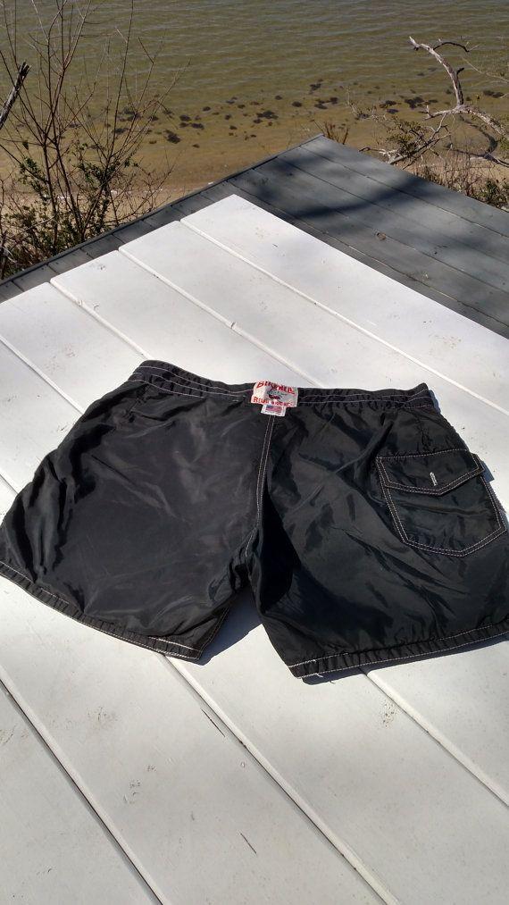 17d871ddab Vintage Birdwell Beach Britches Board Shorts 34 waist Black swim trunks |  Riverwood Cottage Retail | Black swim trunks, Swim trunks, Trunks