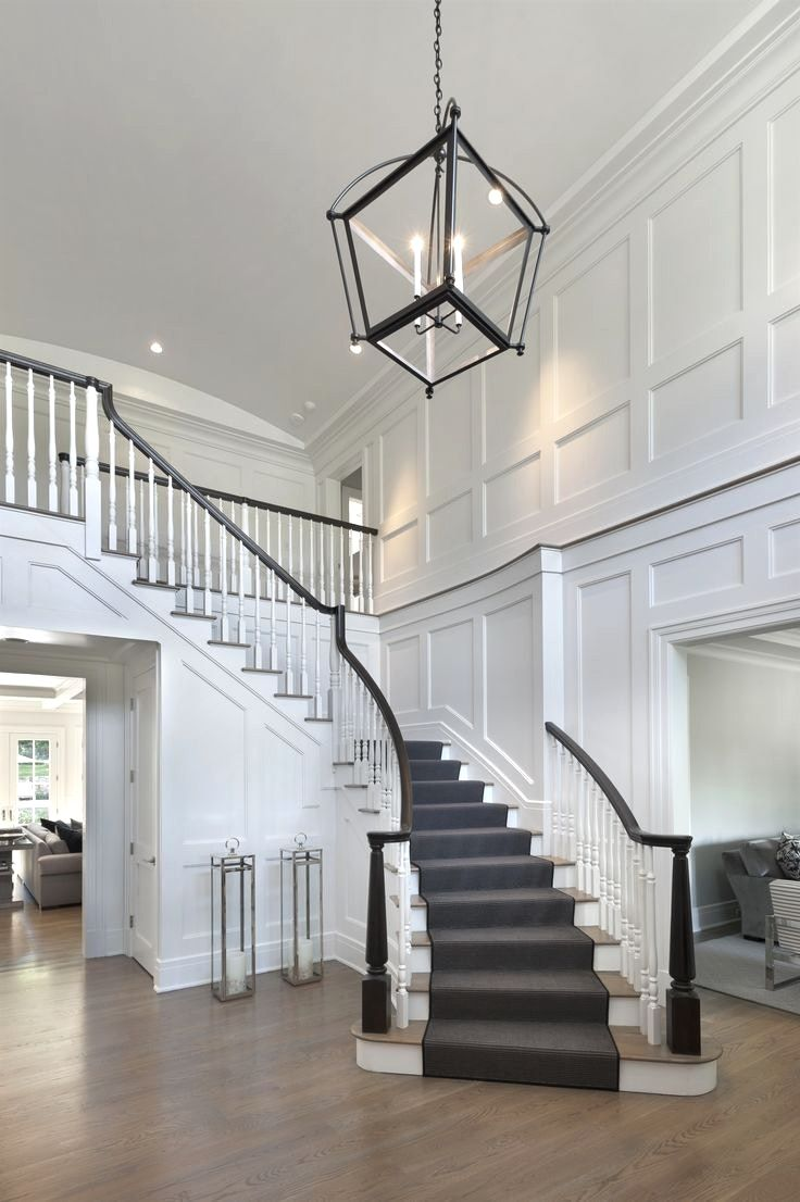 House Foyer Staircase : Chandeliers two story foyer chandelier with best ideas