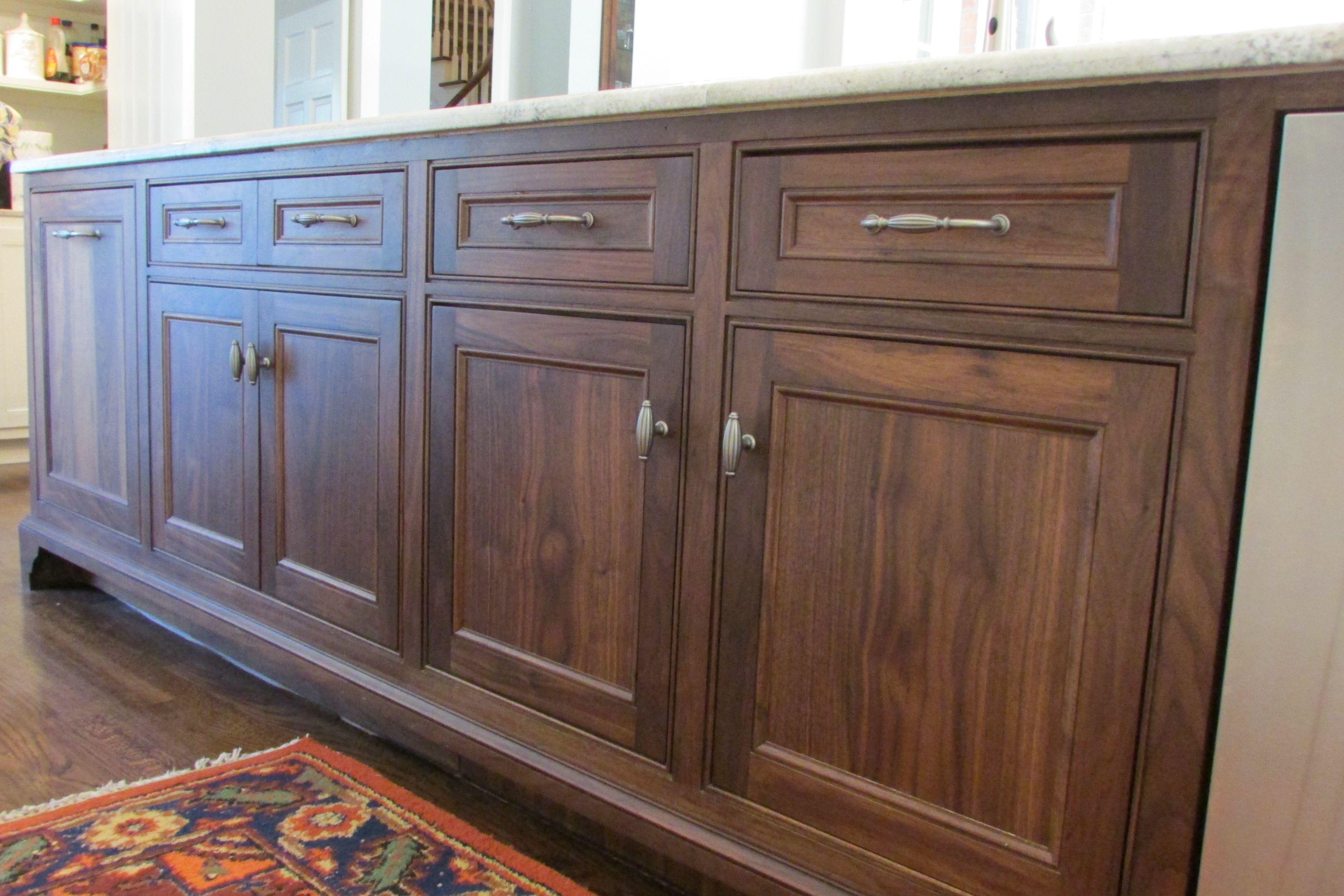 Black Walnut Cabinets Beautiful Black Walnut Island Shreveport La