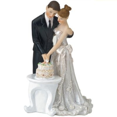 Cake Toppers Contemporary Wedding Bride And Groom