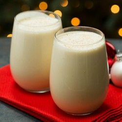 Eggnog Recipe | Brown Eyed Baker