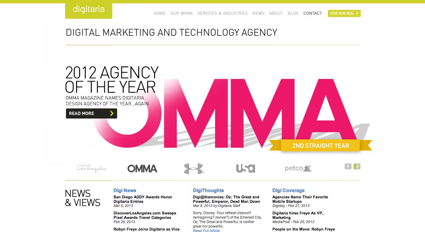 Digitaria. Minneapolis Digital Agency.