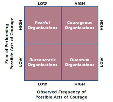 Four Types Of Organizations Courage Essay Assessment