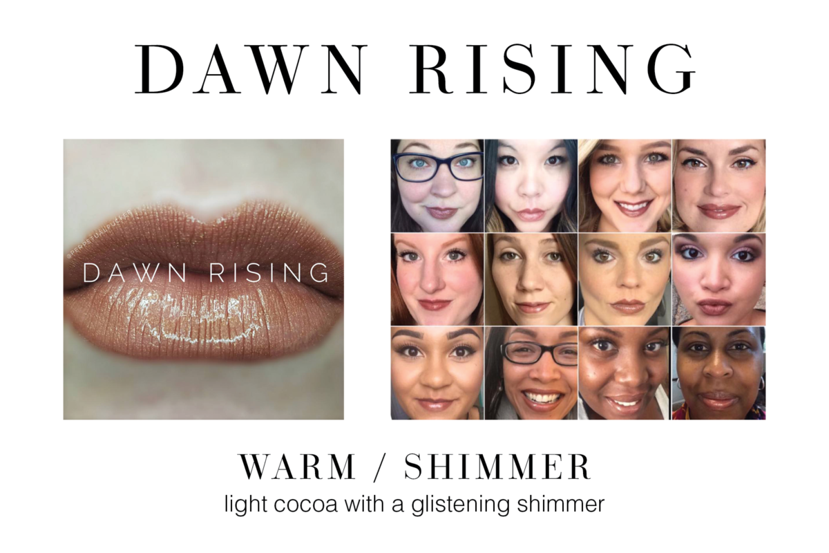 Dawn Rising LipSense 36 Colors for 2017 Lipsense and Senegence Products Long lasting lipstick that doesn't budge, smudge or kiss off!   www.beautybyjamierae.com