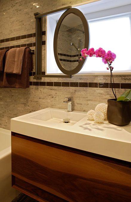 Bathing Bliss Ledge Decor Mirror Decor Bathroom Windows