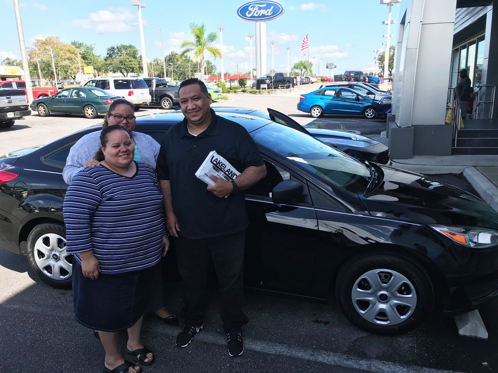 It Is So Exciting When We Hear That A Customer Had A Great Time Buying A Car With One Of Our Salesman Damon Nielsen Mr William Gomez Lakeland Ford Ford Focus