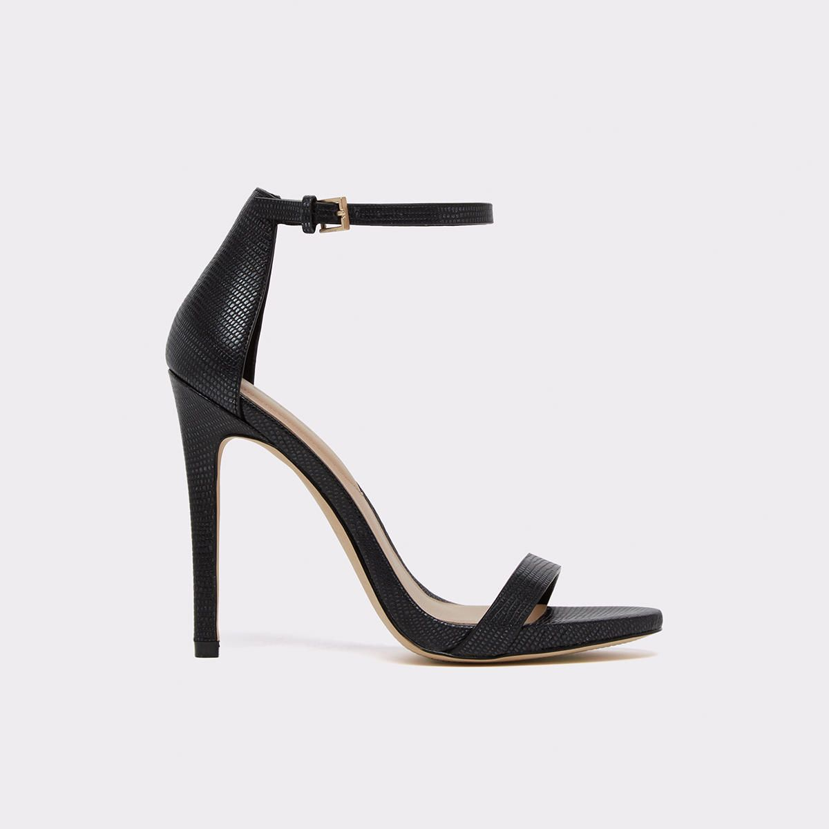 75cef45dc37a Caraa A timeless bare-all ankle-strap high heel sandal that stands the test