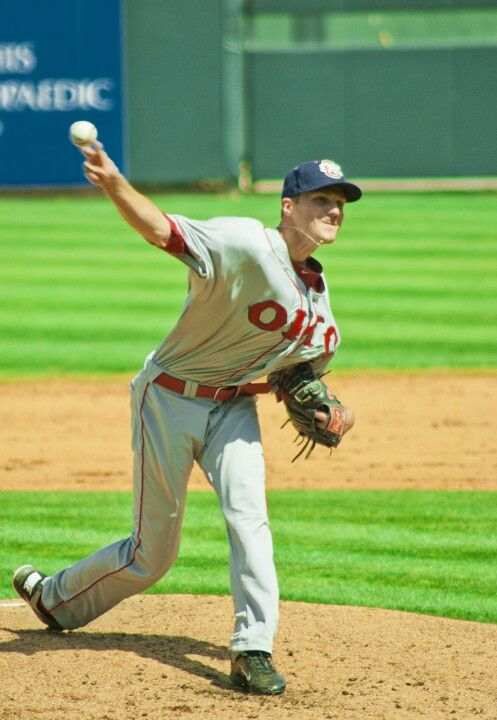 Koby Clemens pitching against the Memphis Redbirds 2012