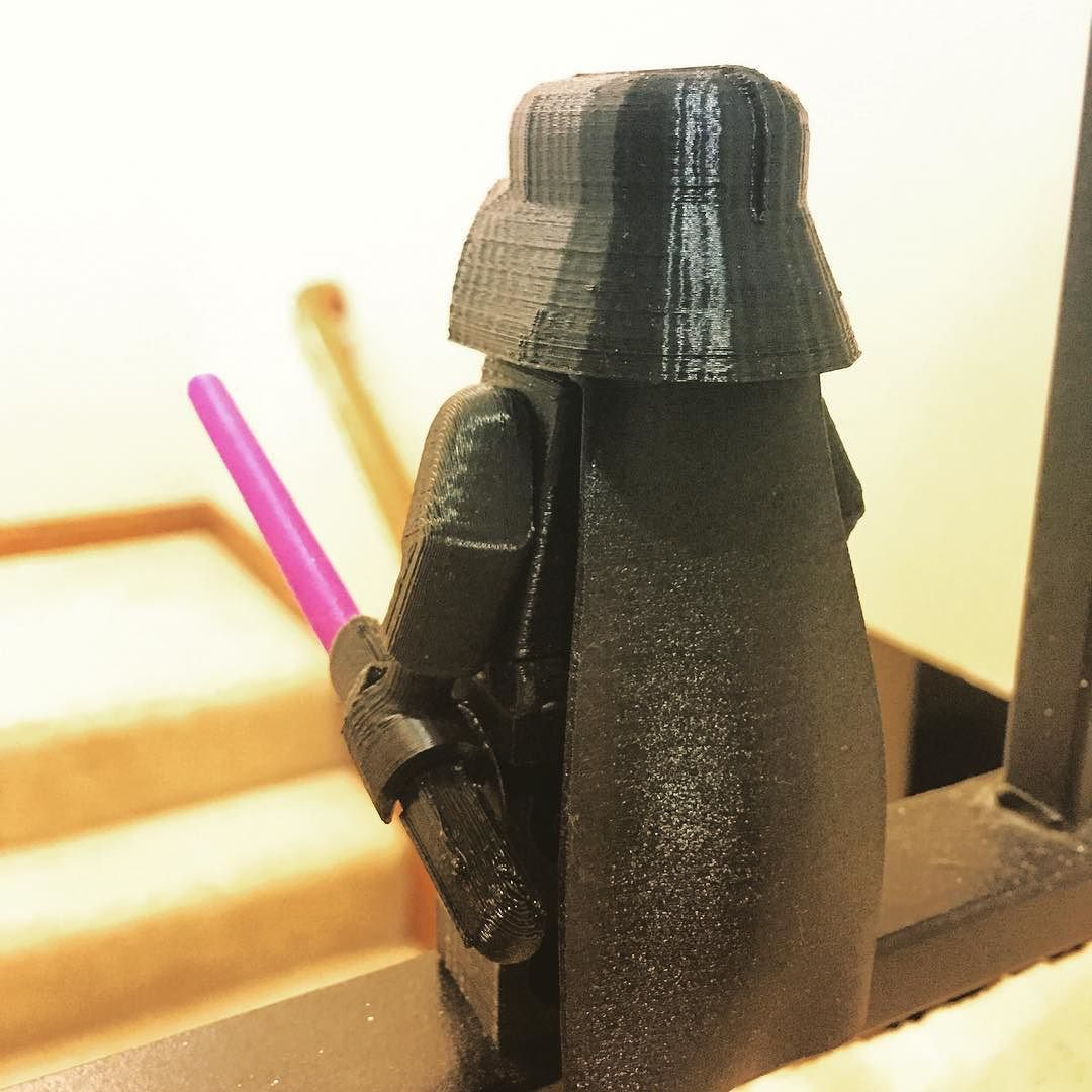 3D printed Darth Vader #3dprinting #longprocess #largelego #starwars #toys #plaprinting #315of365 by 247vape