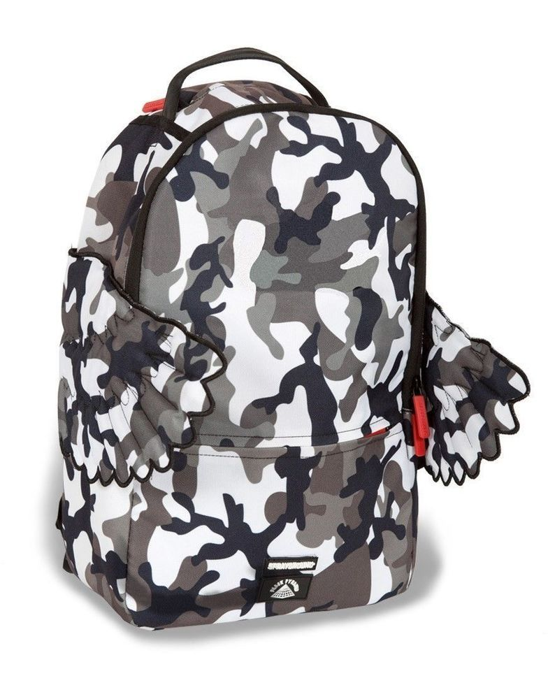 Sprayground Origami Money Wings Backpack White One Size ZpM1ZtBy0