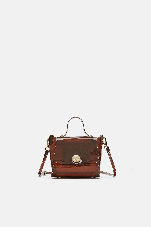 7194f9a6f9dfc9 MINI CITY VINILO   PURCHASE THERAPY   City bag, Zara bags, Bags