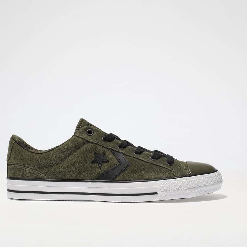mens khaki converse star player ox trainers | schuh