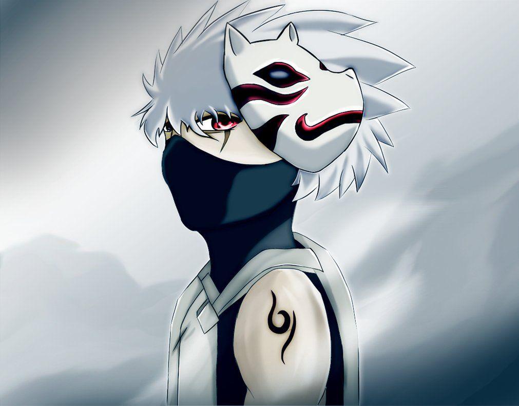 naruto anbu kakashi wallpaper anime Pinterest