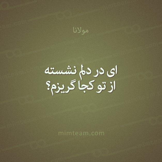 مولانا شعر فارسی عشق Bio Quotes Quran Quotes Cool Words