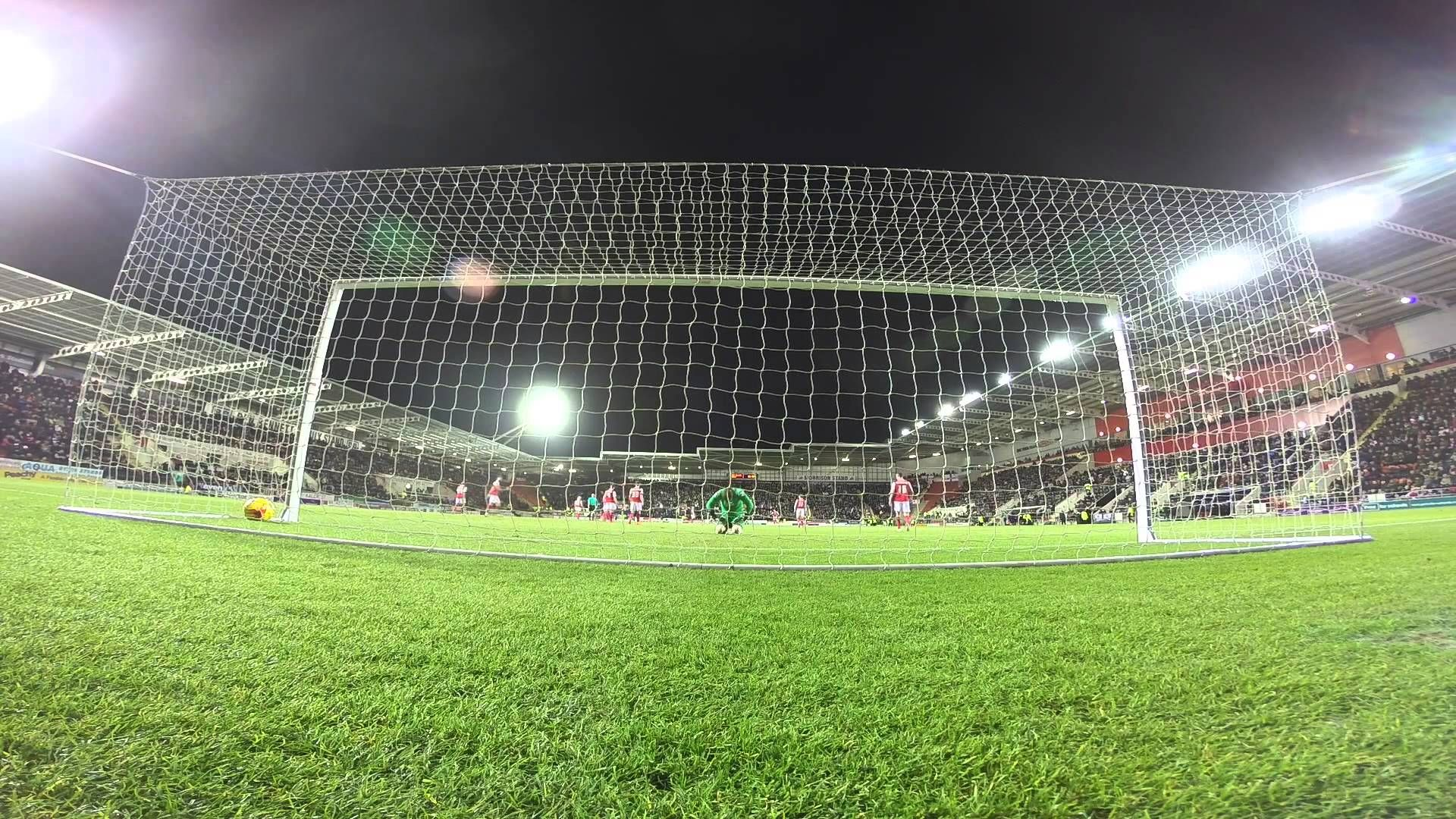 ROTHERHAM 3-3 DERBY COUNTY   GoPro   Tom Ince's First