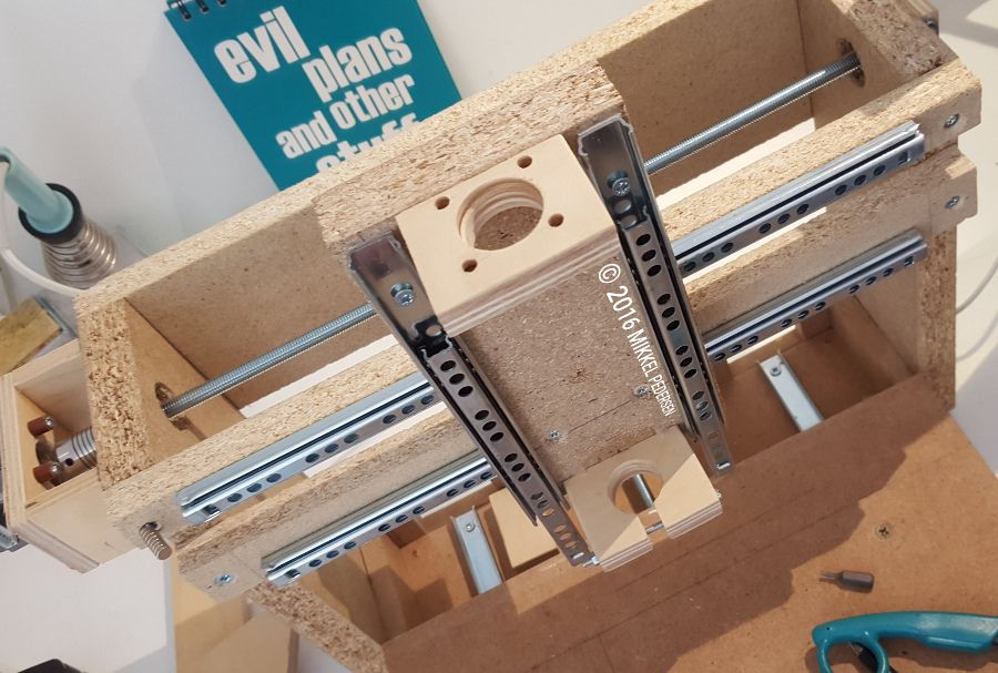 Diy Low Cost 3 Axis Cnc Router Prototype Part 3 The Build Legotronics Diy Cnc Router 3 Axis Cnc Cnc Router