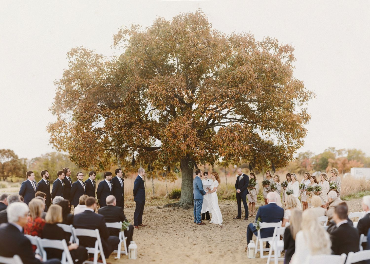 Tree Ceremony Chesapeake Bay Foundation Annapolis Wedding By Kate Ann Photography Brenzier Method