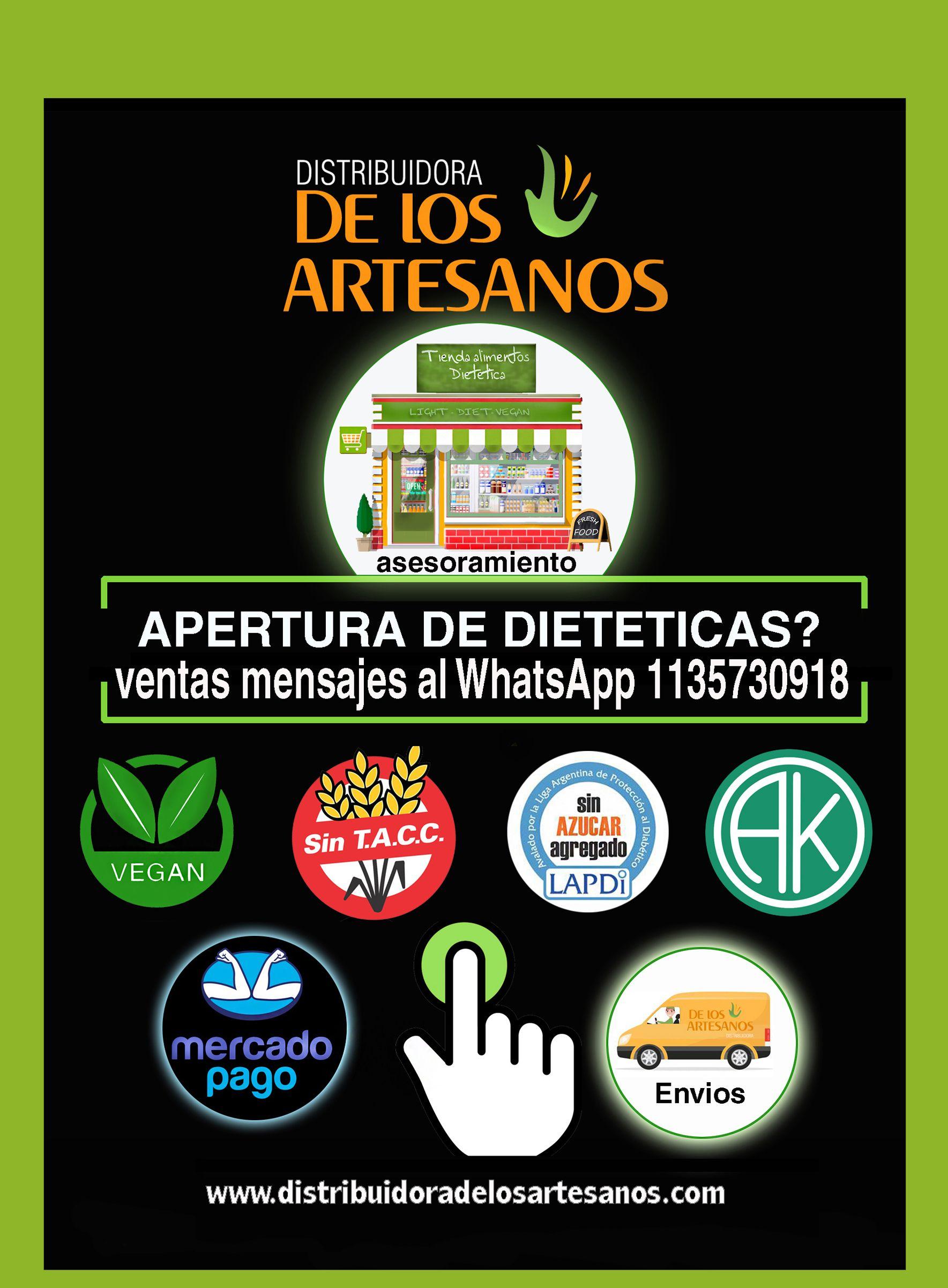 Celiacos Veganos Sugar Free Toda La Linea Al Por Mayor Envios A Todo El Pais Artesanos Distribuidor Tienda Natural