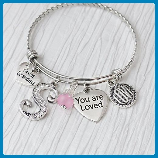 great grandma gifts jewelry you are loved bracelet expandable